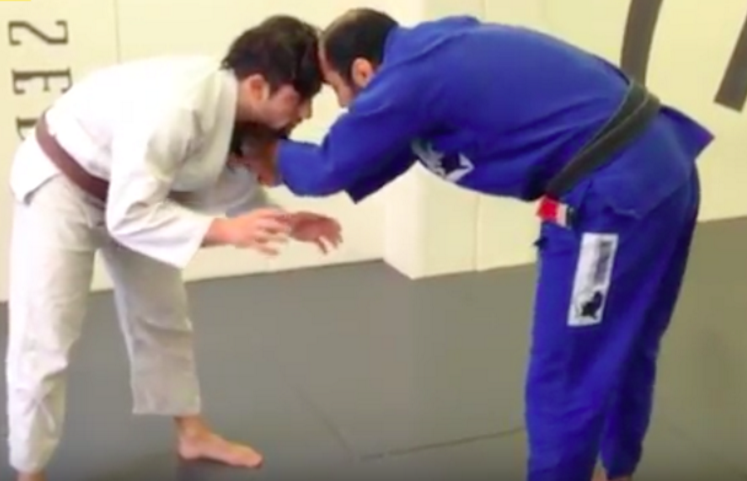 The Easiest Takedown For BJJ Players by Bernardo Faria
