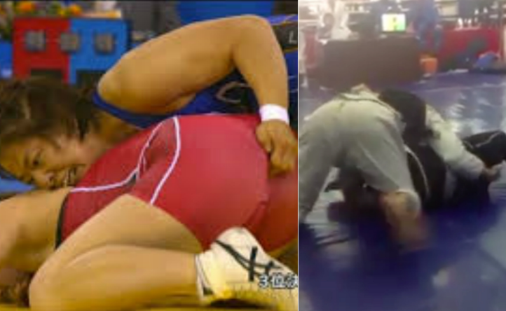 "(Video) Guy Taps To ""Oil Check"" In Jiu-Jitsu Match"