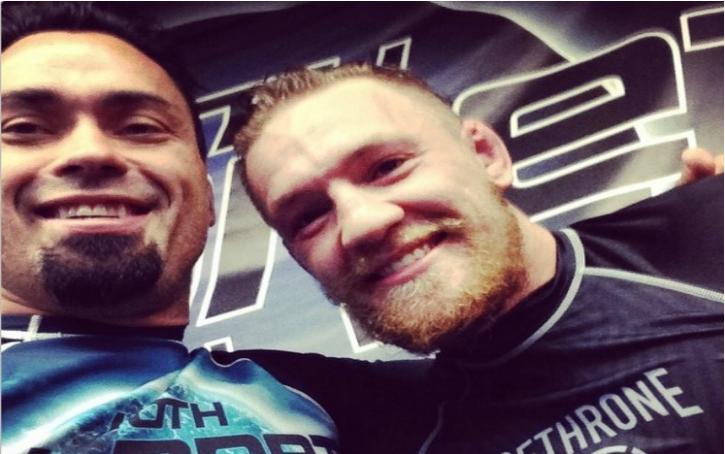 Eddie Bravo Talks about Jiu-Jitsu Training Session with Conor McGregor