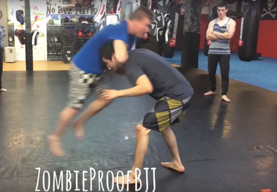 How To Set Up A Flying Guillotine Choke