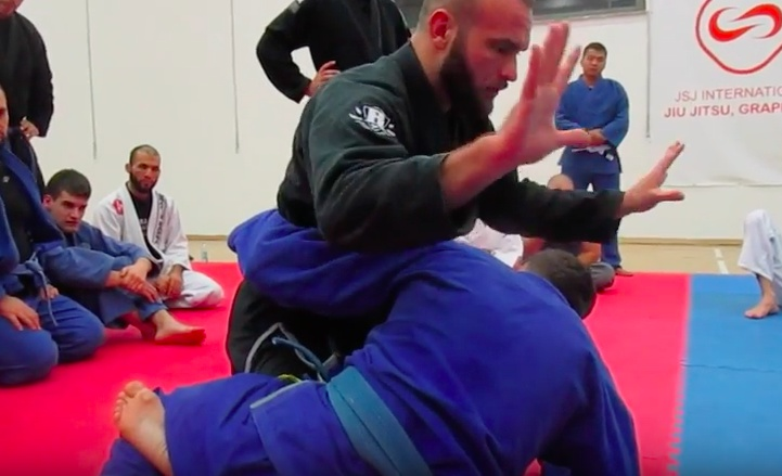 Adem Redzovic Shows a Kimura Trap against Underhook Half Guard