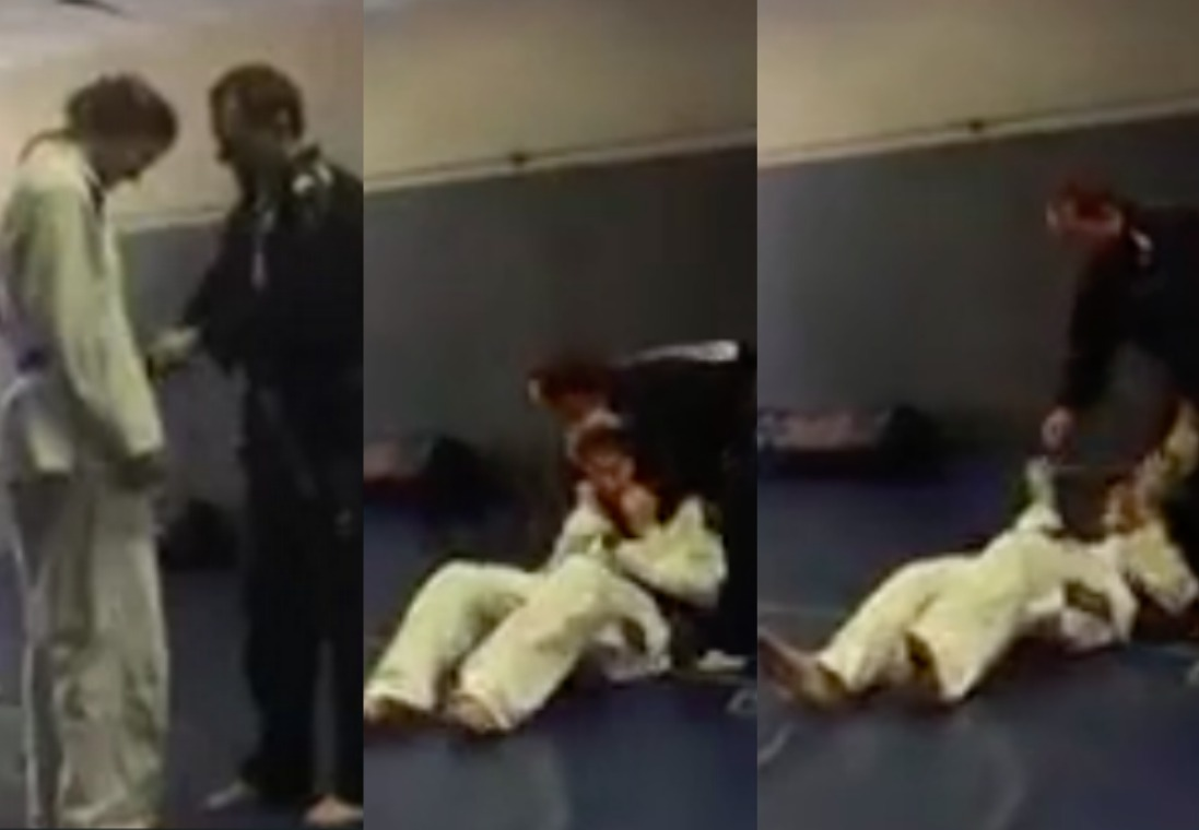 BJJ Instructor Promotes Students Then Chokes Them Unconscious