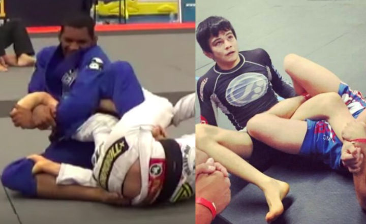 Difference Between Luta Livre and BJJ: Footlocks