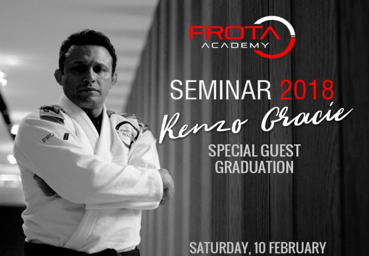 Renzo Gracie Seminar At Frota Academy in Zurich This Weekend