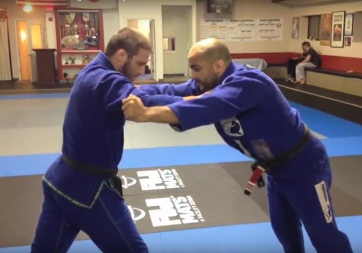 Travis Stevens On Dealing w/ Stiff Arm/Hips Back Standing Opponent