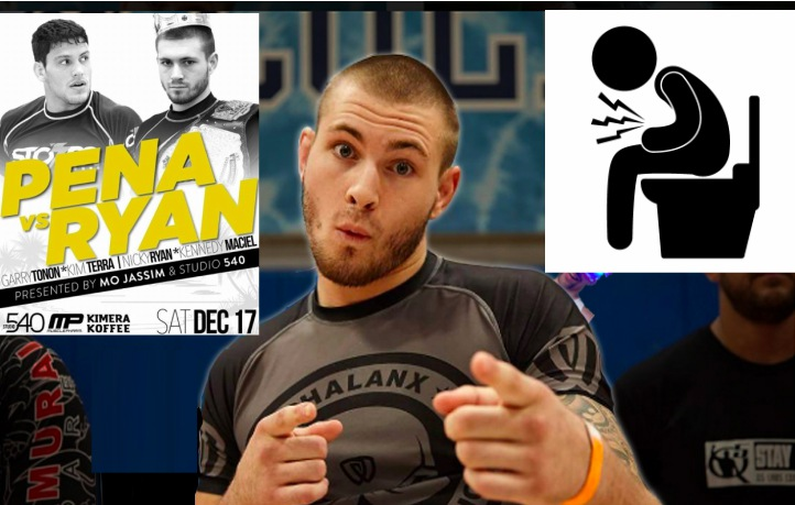 Gordon Ryan Recovering from Diarrhea Coming into Felipe Pena Superfight