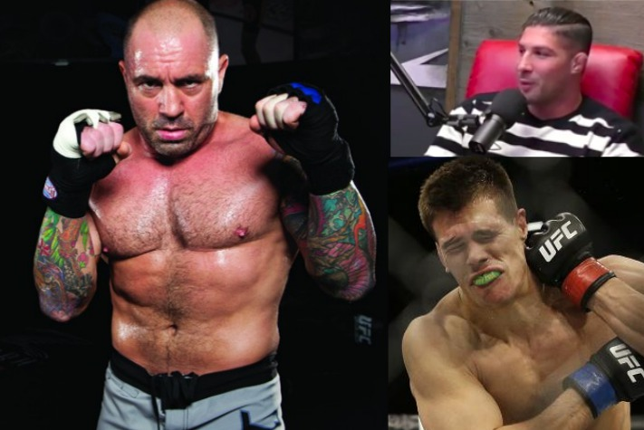 Brendan Schaub 'Bets His Life' Joe Rogan Would Beat Mickey Gall in MMA Fight