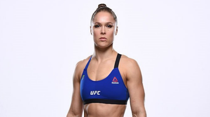 New Photos Show Ronda Rousey in Amazing Shape