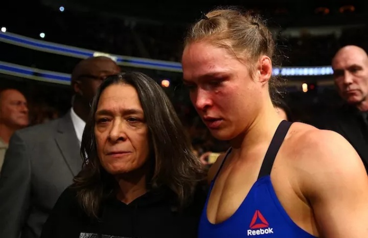 Ronda Rousey's Mom: 'She Should Retire…Let the Dummies Get Punched in the Face!'