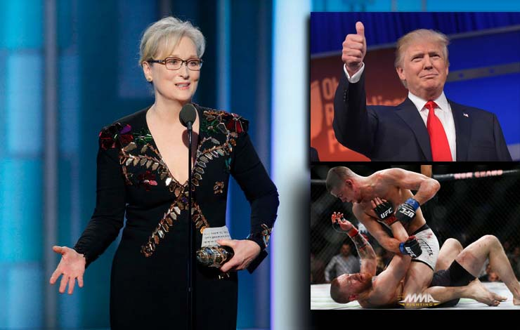 Meryl Streep Disses MMA saying It's Not an Art, Gets Invited to Bellator 170