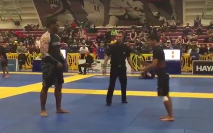 The Power of Jiu-Jitsu: Rooster Weight Defeats Ultra Heavyweight in Brown Belt Match