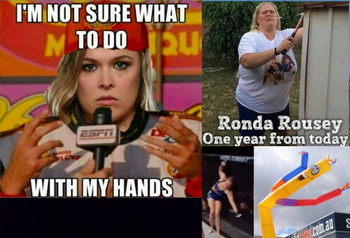ronda brutal ronda rousey memes after loss to amanda nunes