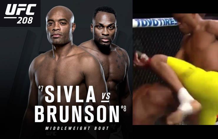 Anderson Silva Vs Derek Brunson Full Fight Ufc 208