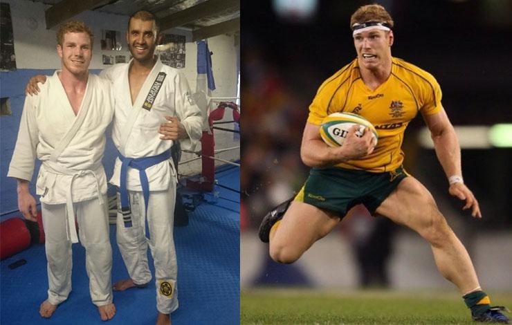Australian Rugby Superstar David Pocock Crosstraining BJJ
