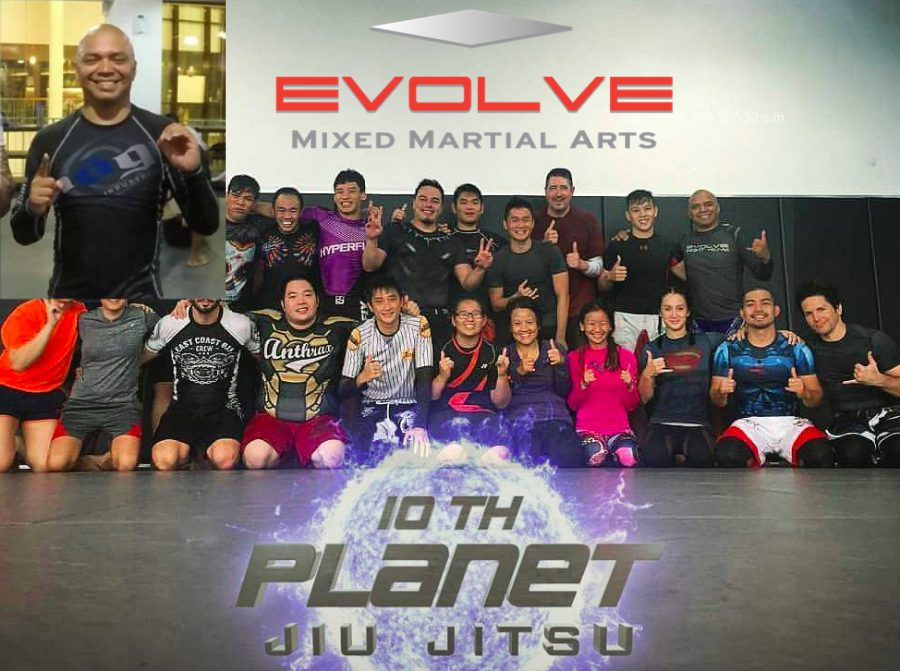 Rick Marshall, 10th Planet Jiu-Jitsu Black Belt Teaches at Evolve MMA Singapore