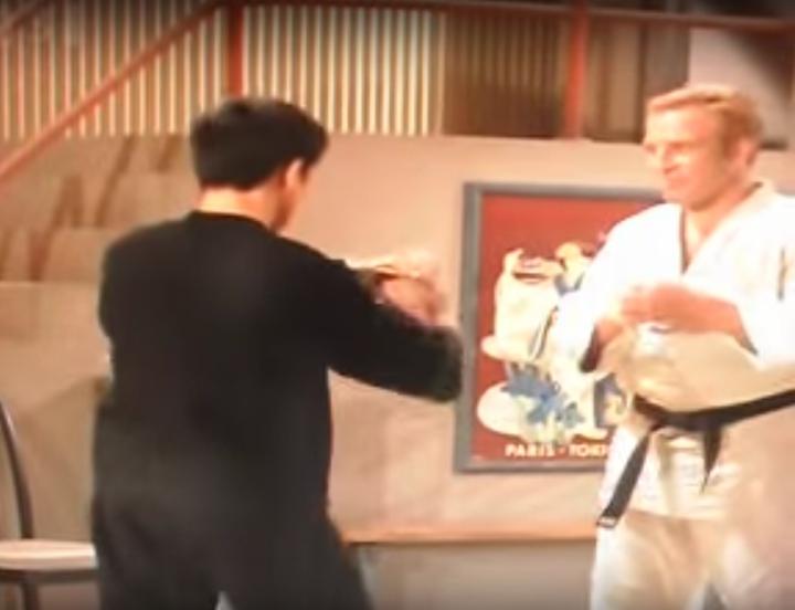 Bruce Lee vs. Judo Legend Gene LeBell in 1967