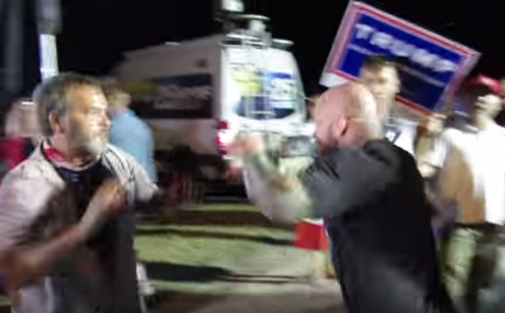 Jeff Monson Gets in Fight with Trump Supporter