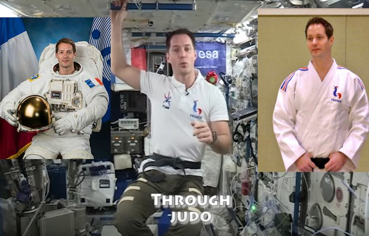 Message from Space – Judo Black Belt and Astronaut Thomas Pesquet