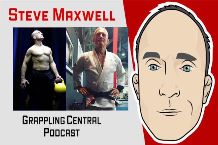 Steve Maxwell on Specific Strength Training for BJJ & Best Diet…