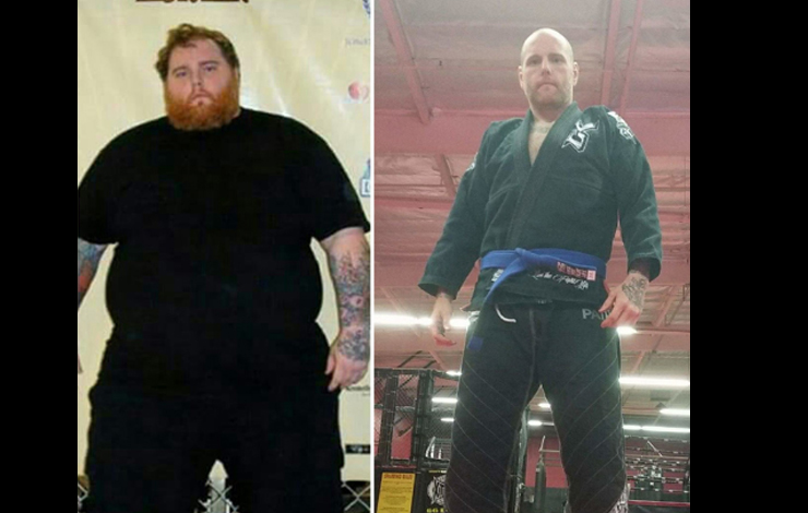 Jiu-Jitsu Helps Man Lose 257 Pounds