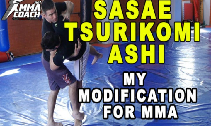 Judo's 'Sasae Tsuri-Komi Ashi' Modification For MMA & No Gi Grappling