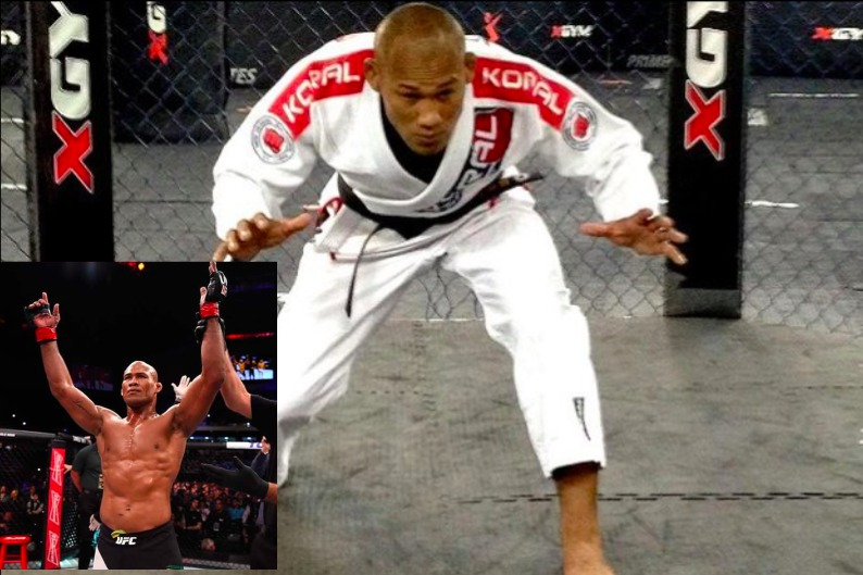 Jacare: 'I'd Make As Much Money Teaching BJJ As I Do in MMA'