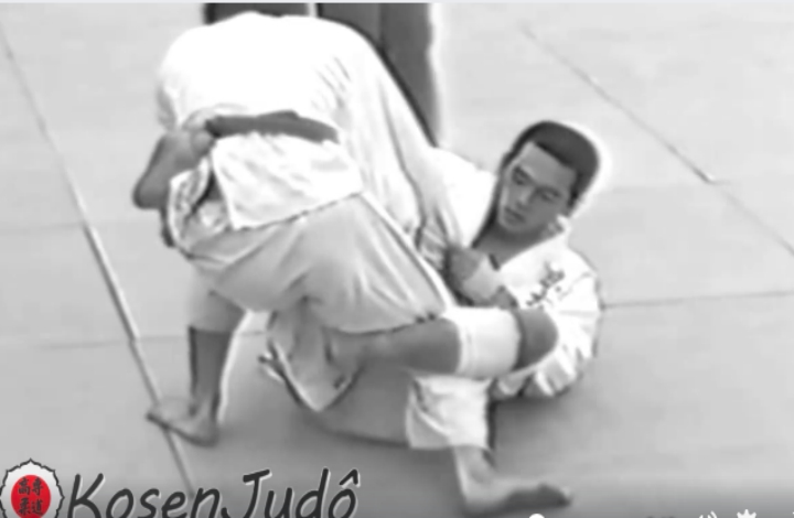 'Modern' BJJ Guards Used in Kosen Judo Tournaments From 1952