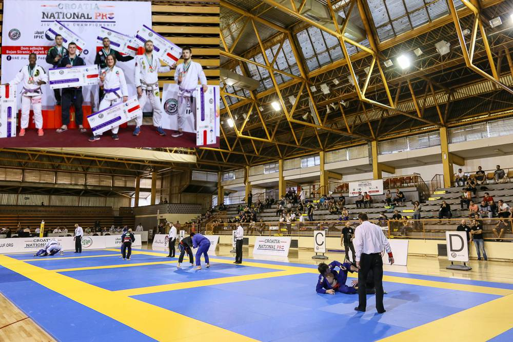 Zagreb International Pro Jiu-Jitsu Championship: 51 Travel Packages to Tokyo & London Grand Slam