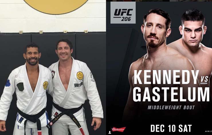 Royler Gracie Black Belt Tim Kennedy Re-Enlists In Army Following UFC Retirement