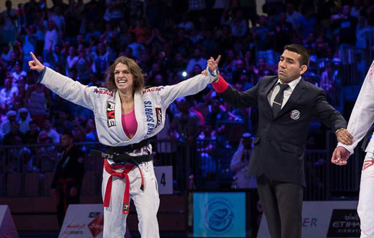 Shocker: Mackenzie Dern Out Of Abu Dhabi World Pro 2017
