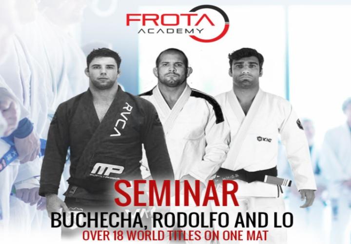 Mega Seminar In Zurich: Buchecha, Rodolfo Vieira & Leandro Lo @Frota Academy