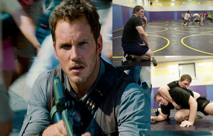 Actor Chris Pratt Wrestled For 10 Years & In Same Tournaments As Josh Barnett