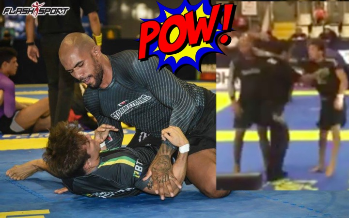 Erberth Santos B*tchslapped by Alexandre Vieira at Rio Fall Open