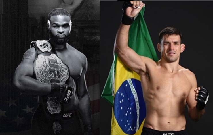 Woodley Wants 7 Figures To Face Demian Maia in Brazil