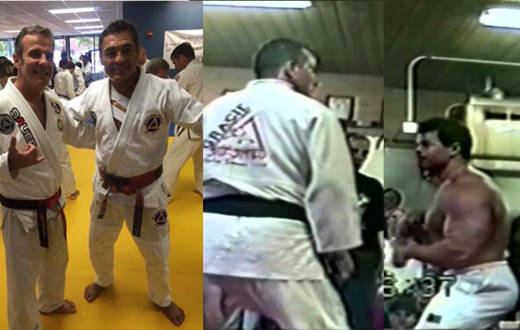 Pedro Sauer Talks Challenge against 100lbs Heavier Wrestler and First Ever BJJ Class