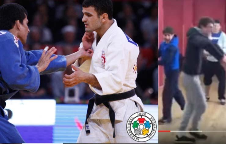 Georgian Judo Team's Secret Routine You'd Never Guess