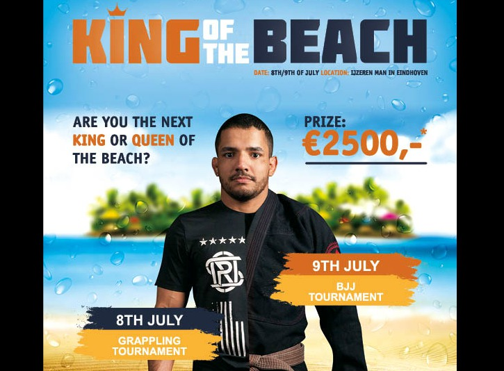 King of the Beach: Europe's Biggest Outdoor Grappling Tournament; Netherlands 8-9th July
