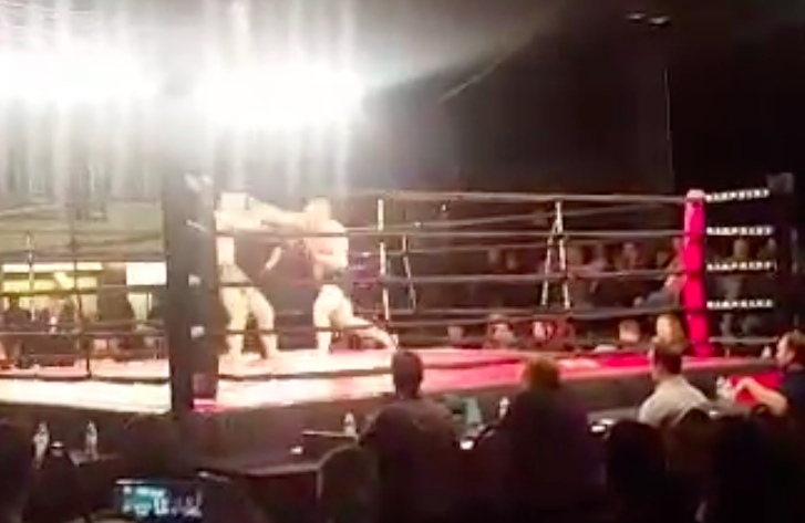 MMA Fighter Cheap Shot KO's Opponent 2 secs Into Fight