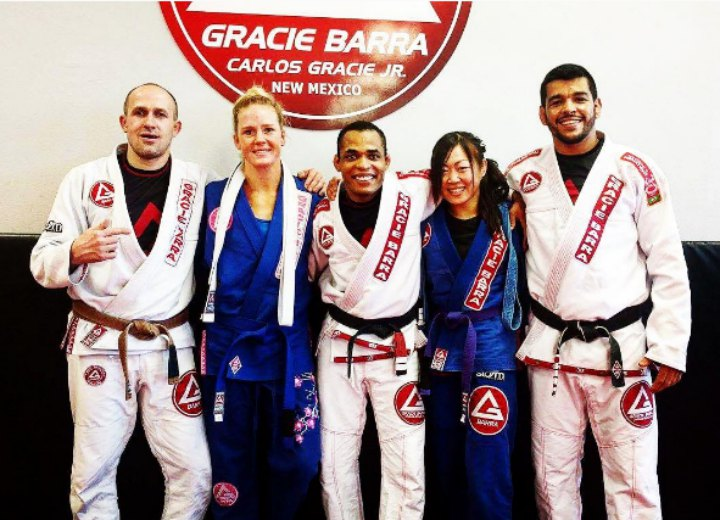 Holly Holm Puts In Work & Gets Promoted To Blue Belt in BJJ