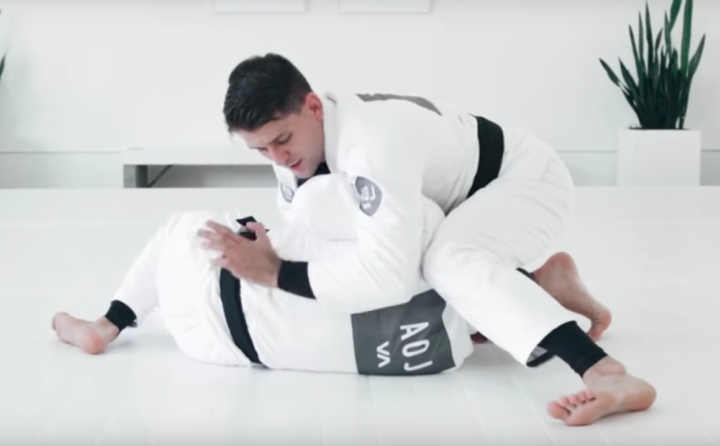 Rafael Mendes: Modified Kimura from Side Control
