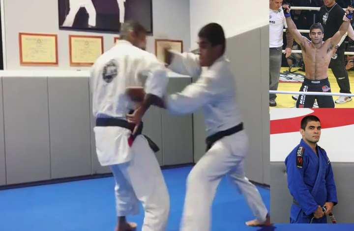 BJJ World Champion Vitor 'Shaolin' Does Self Defense Course with Valente Bros