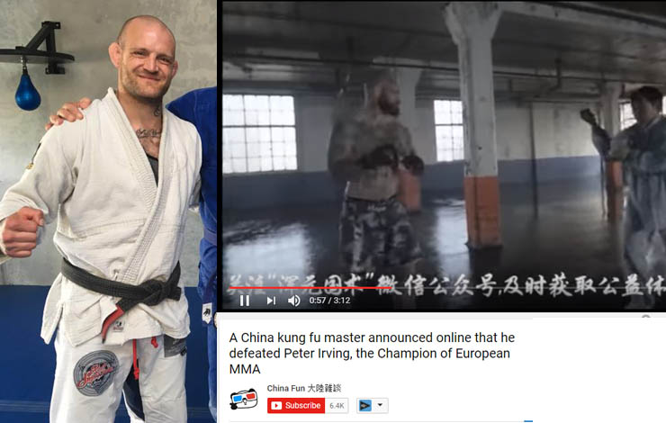BJJ Black Belt Peter Itaipava Hired As An Extra- Ended Up In Kung Fu vs MMA Viral Video