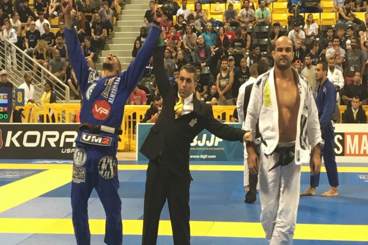 Bernardo Faria: 'Erberth is The Only One That Has Been Disrespectful To Me in 17 Yrs Competing'