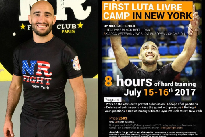 First Ever Luta Livre Camp in New York with Nicolas Renier 5x ADCC Vet
