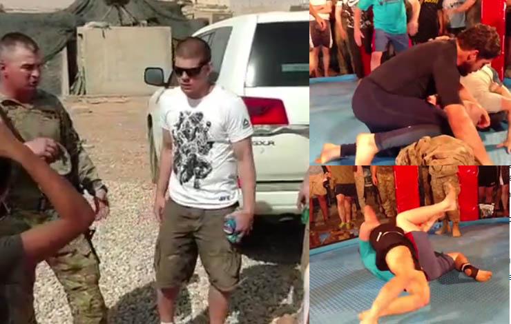 US Army Member Taps Out Sam Alvey, Grapples Joe Lauzon & Co