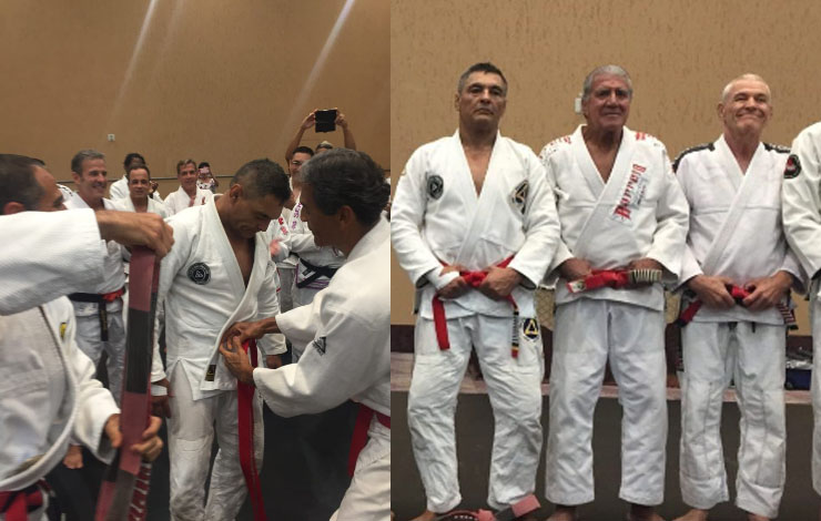 Rickson Gracie Just Got Promoted To Red Belt