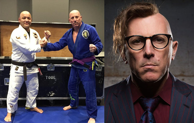Tool Singer Maynard James Keenan Talks How He Built His Own Gym And What Attracted Him To BJJ