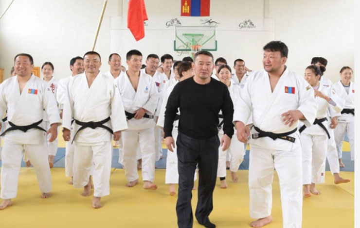 Mongolia Elects Former Judo Star As President