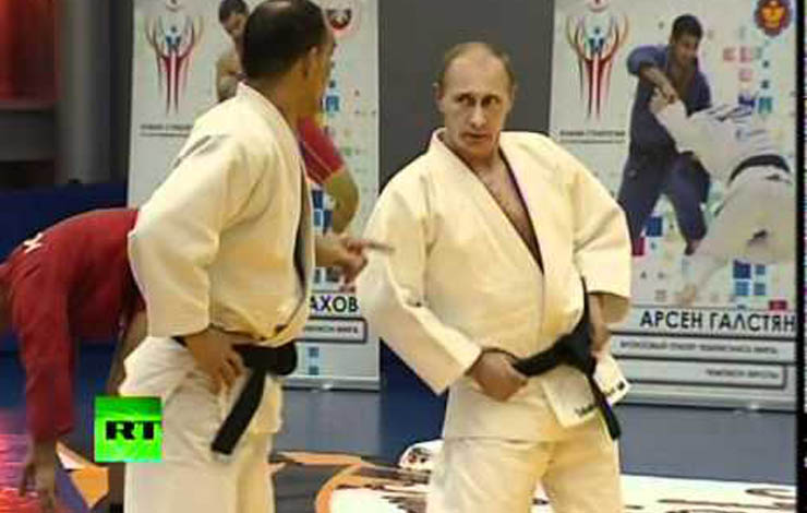 Western Media Calls Bullshido On Putin's Judo Expertise