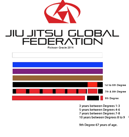 The Different Belt Systems Used in Brazilian Jiu-Jitsu